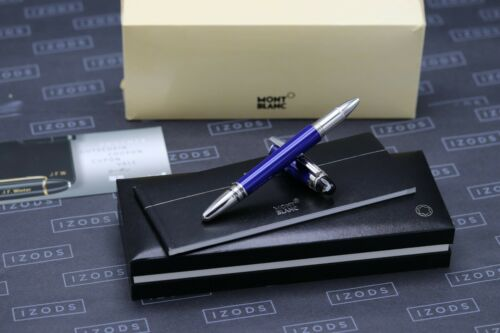 Montblanc Starwalker Cool Blue Rollerball / Fineliner Pen