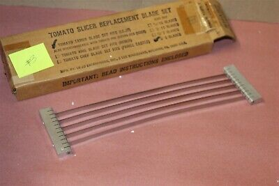 Tomato Tamer Slicer Replacement Blade Le-jo 12 Cut New Lot 3