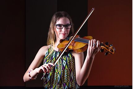 Private violin, singing and theory teacher