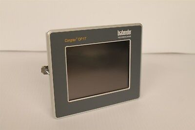 Brabender Congrav Op 1t Touch Screen Operator Control Module