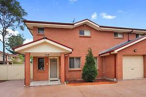 Impressive 3 Bedroom Townhouse Rooty Hill Blacktown Area Preview