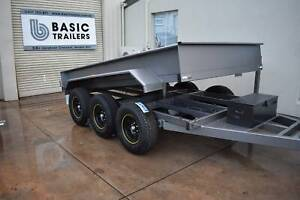 TRI-AXLE 4500KG TIPPER TRAILER -12 X 6 FT AUSSIE MADE Holden Hill Tea Tree Gully Area Preview