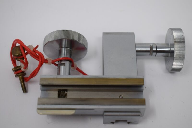 Ultratech Stepper Linear Translation Stage Adjustment Fixture Assembly