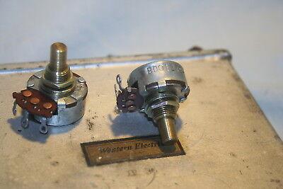 10 Meg Linear Clarostat Potentiometer Fender Guitar Amp Tube Amplifier Pot 1971
