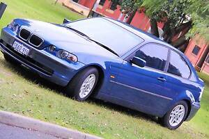 2002 BMW 316TI E46/5 Steptronic BLUE 5 Speed Automatic Hatchback East Victoria Park Victoria Park Area Preview