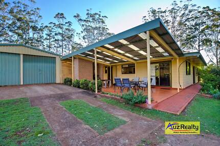5 Acres + Dual Living + 3 Sheds + 3Kw Solar + Battery System