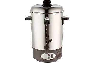 Glühweinbehälter Glühwein Kocher Warmhaltekanne Edelstahl Kanne 1800 Watt