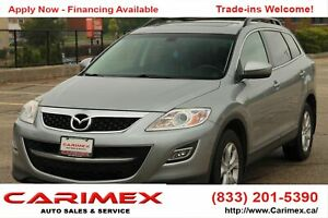 2012 Mazda CX-9 GS 7 Passenger   AWD   Leather   CERTIFIED