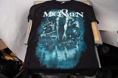 Bay Island Of Mice and Men Band Shirt Medium Black