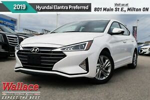 2019 Hyundai Elantra Preferred/SUNROOF/HTD SEATS & WHEEL/CARPLAY