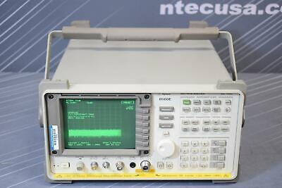 Keysight Agilent 8560e Portable Spectrum Analyzer 30hz To 2.9ghz Calibrated