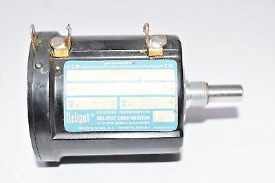 Vintage Beckman Instruments Inc - Helipot Precision Potentiometer Model A Res.