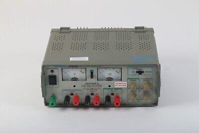 Tektronix Cps250 Triple Output Dc Power Supply 5v 2a 0 20v 0.5a Ab Outputs