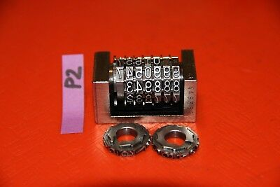 Leibinger 42 Letterpress Numbering Machine Center Driven Reverse P2