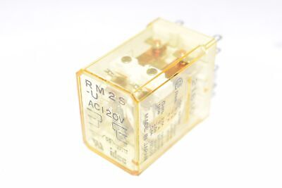Idec Rm2s-u Ac 120v General Purpose Power Relay