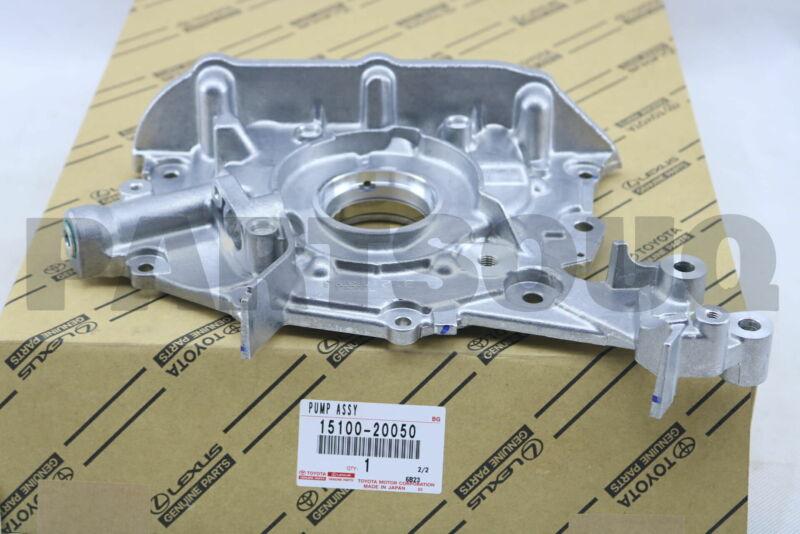 1510050050 Genuine Toyota PUMP ASSY OIL 15100-50050