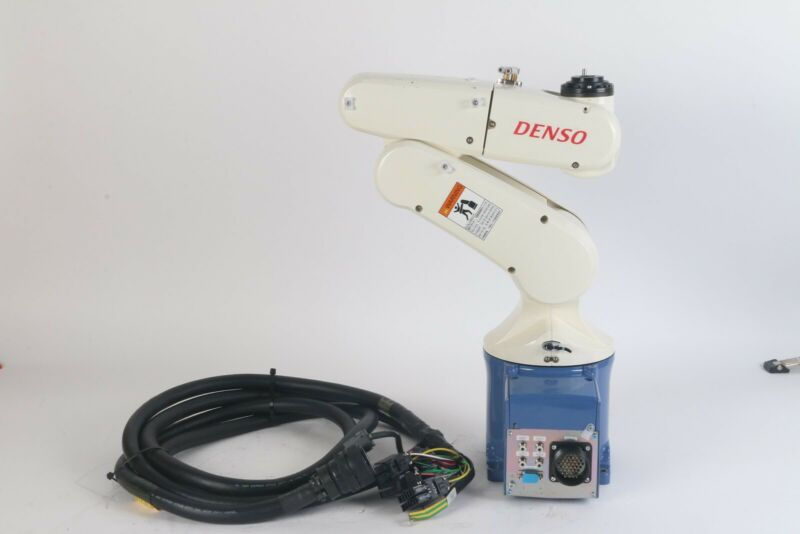 Denso Wave VP-6242M Industrial Robot W/ Cable