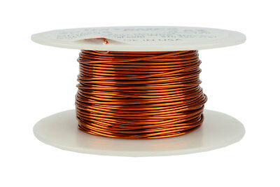 Temco Magnet Wire 20 Awg Gauge Enameled Copper 200c 4oz 78ft Coil Winding