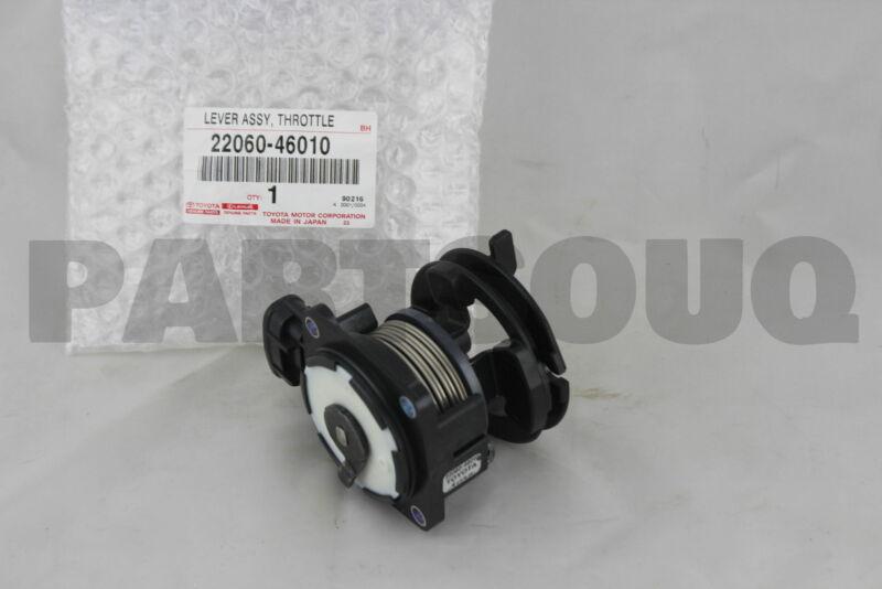 2206046010 Genuine Toyota Lever Assy, Throttle W/sensor 22060-46010