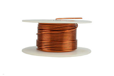 Temco Magnet Wire 17 Awg Gauge Enameled Copper 200c 4oz 40ft Coil Winding