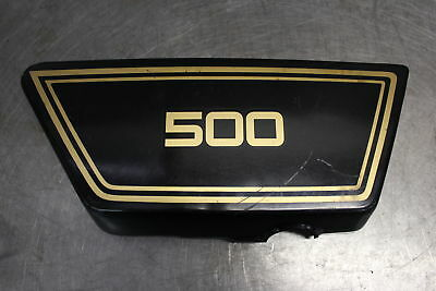 1977 <em>YAMAHA</em> XS500 <em>XS 500</em> RIGHT SIDE COVER PANEL COWL FAIRING