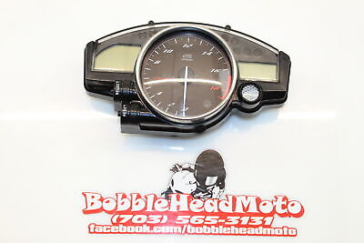 08-16 Yamaha Yzf R6 Oem Speedo Tach Gauges Display Cluster Speedometer 5085 m C5