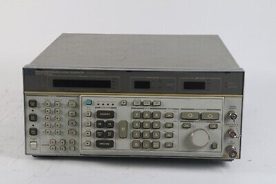 Hp Hewlett Packard 8662a Synthesized Signal Generator W Opts. 043 W55