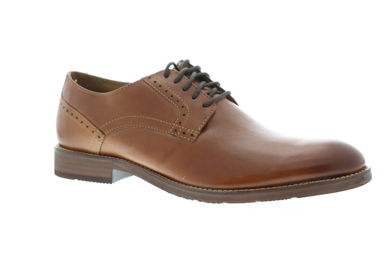 Florsheim Marengo Plain Toe 11881-221 Mens Brown Dress Lace Up Oxfords Shoes