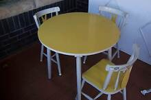 Small Timber Table & Chairs - Ideal for Childrens Craft Area? Thornleigh Hornsby Area Preview