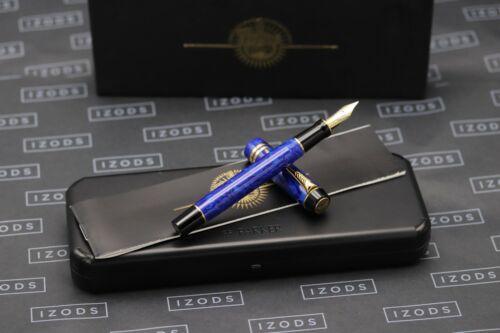 Parker Duofold MKII Centennial Lapis Lazuli Blue Fountain Pen - 1997