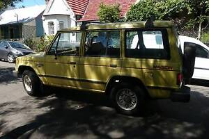 1989 Mitsubishi Pajero Wagon Camperdown Inner Sydney Preview