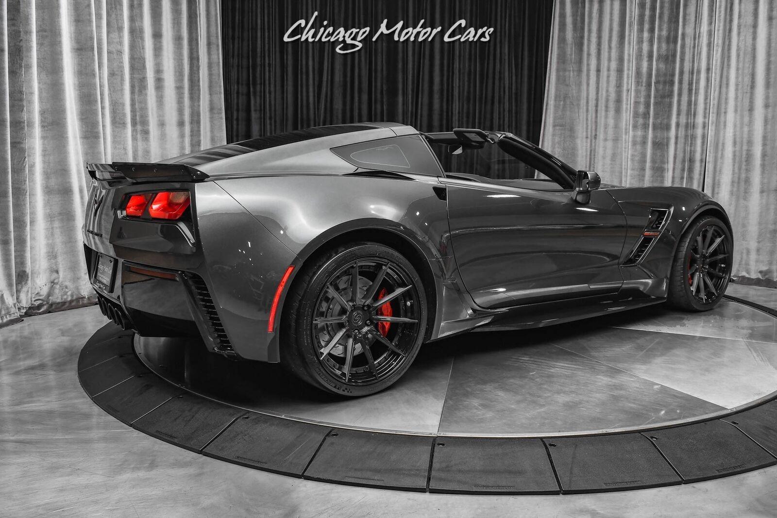 2017 Gray Chevrolet Corvette Grand Sport 2LT   C7 Corvette Photo 5