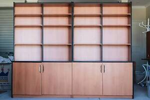 Bookcase and office cupboard unit ideal for office or students North Beach Stirling Area Preview