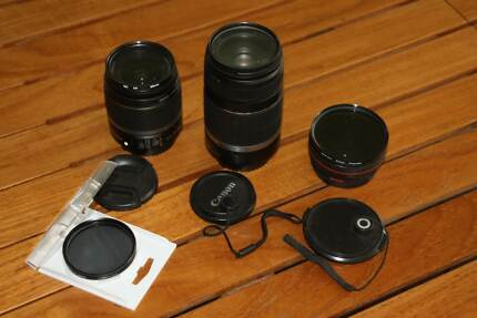 Camera lenses and filter