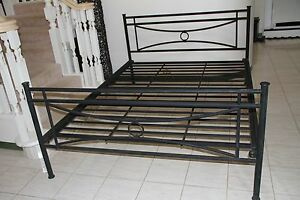 Queen Size Wrought Iron Bed , good condition Bridgeman Downs Brisbane North East Preview
