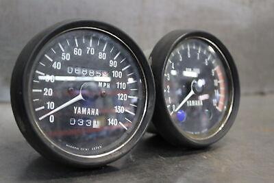 1974 Yamaha TX500 GAUGES METER SPEEDO TACH 371-83519-71-98 371-83570-43-00