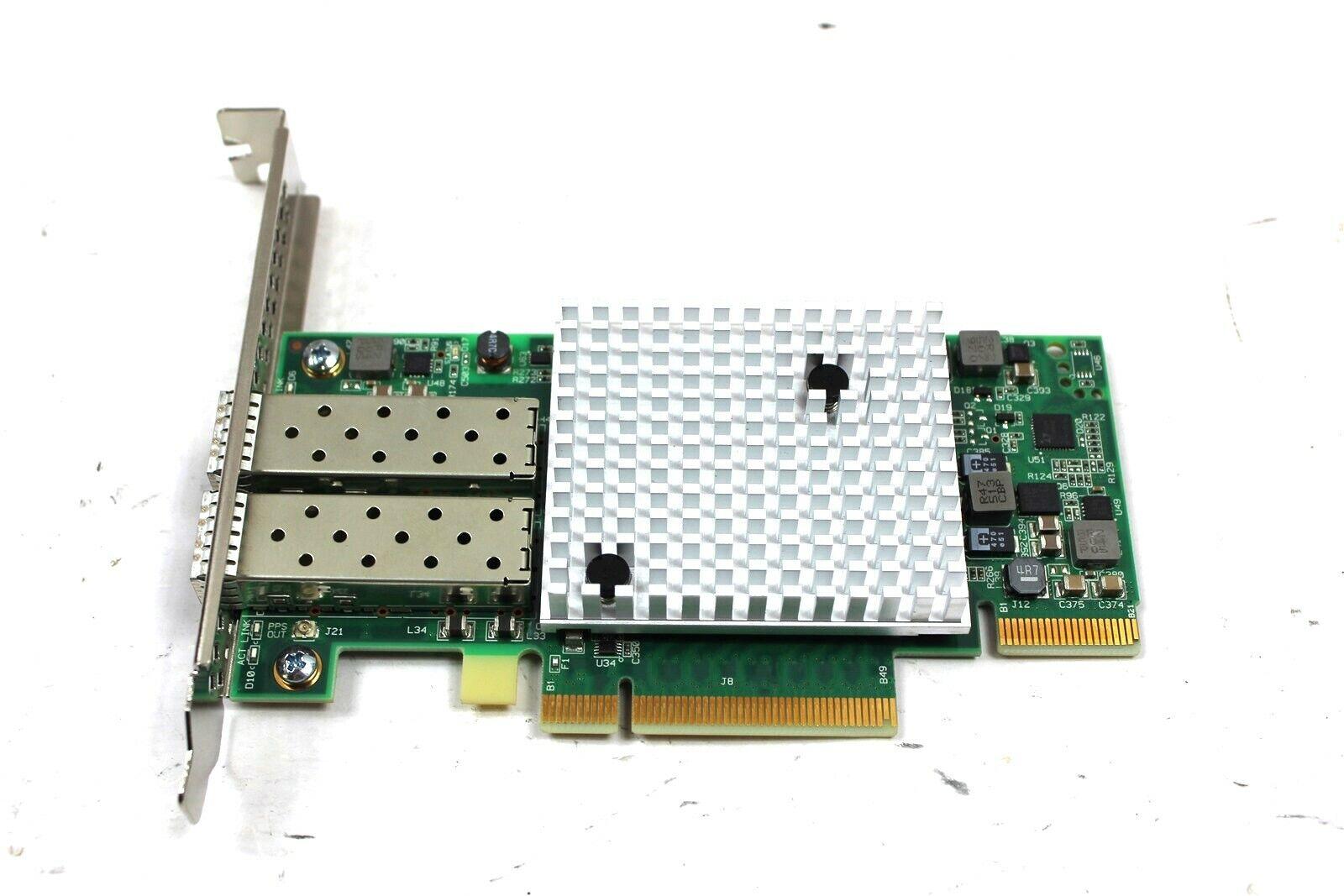 Solarflare SFN5322F Dual Port 10GbE PCI-E Server Cardwith Low profile bracket