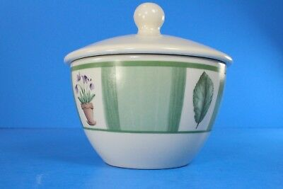 Pfaltzgraff FLOWER GARDEN Sugar Bowl With Lid Excellent Condition  Flower Sugar Bowl