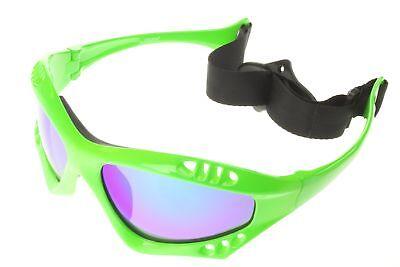 Polarized Water Sport Sunglasses Surf Kitesurfing Glasses Green Mirror 603