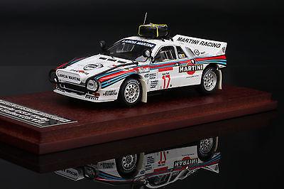 Wood Base -- Lancia 037 Rally #17 1984 Safari Rally - HPI #8587 1/43