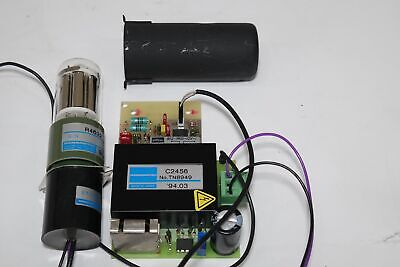 Lot Hamamatsu Photomultiplier Tube R4632 Socketc2456 High Voltage Power Supply