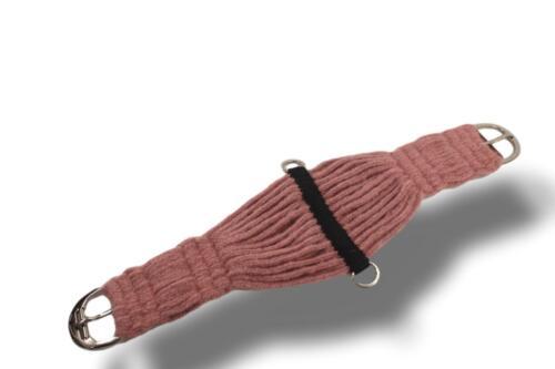 D.A. Brand Navajo Dusk Mohair 27 String Girth w/ SS Hardware Horse Tack