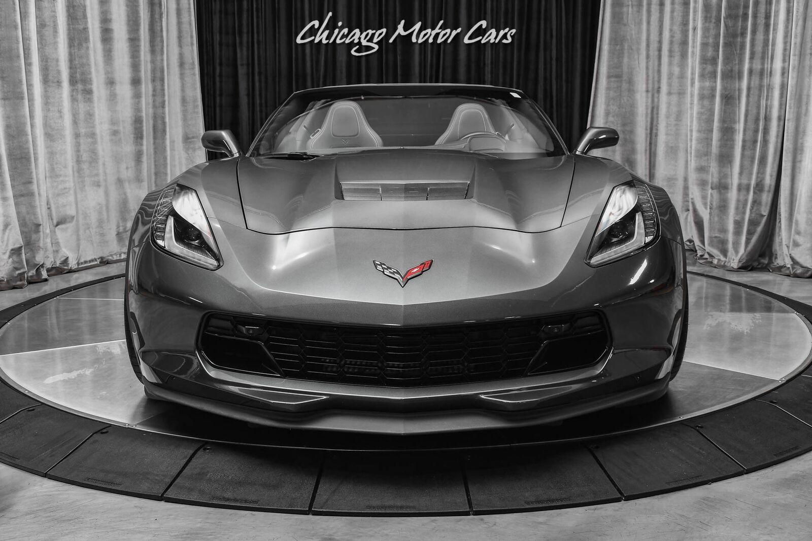 2017 Gray Chevrolet Corvette Grand Sport 2LT   C7 Corvette Photo 7