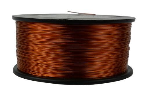 TEMCo Magnet Wire 23 AWG Gauge Enameled Copper 200C 1.5lb 939ft Coil Winding