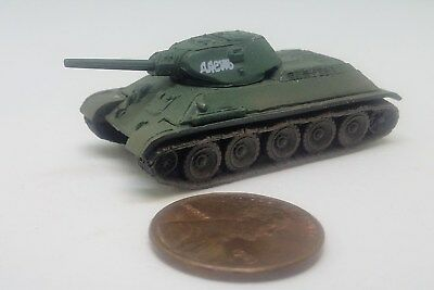 - Takara 1/144 World Tank Museum 3. Russian T34/76. With slogan on turret. (#51)