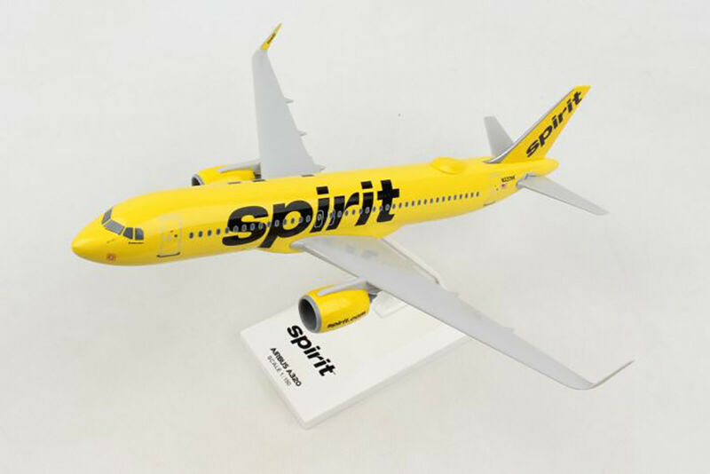 SkyMarks Spirit Airlines Airbus A320NEO SKR1011 W/WIFI Dome Reg#N320NK 1/150