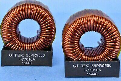 2 544uh Switch Mode Filter Inductor Choke Coils Heavy 55pr9550 Q 102