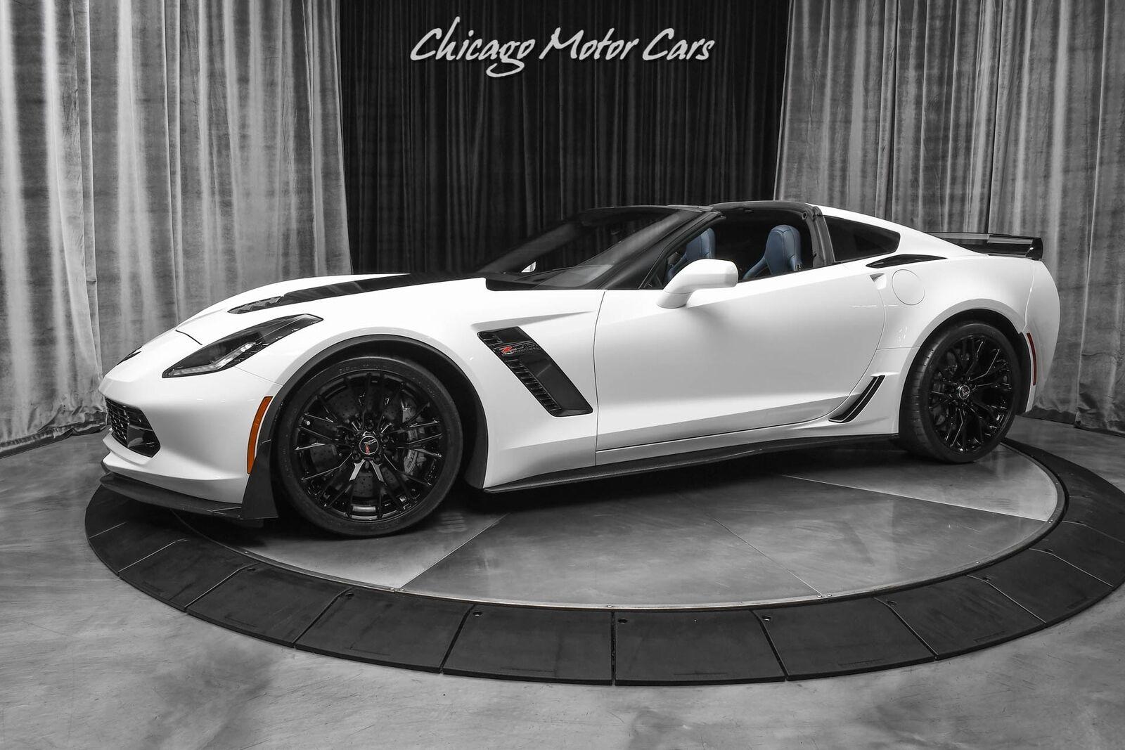 2015 White Chevrolet Corvette Z06 3LZ | C7 Corvette Photo 1