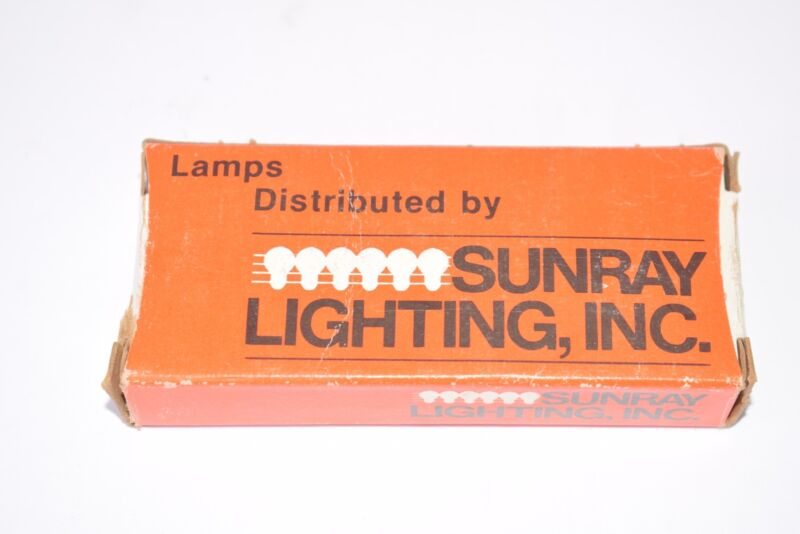 Pack of 10 NEW Sunray Lighting No. 328 Lamps