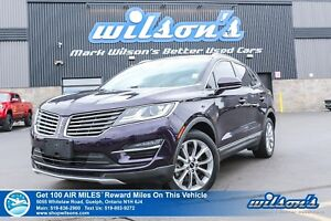 2015 Lincoln MKC AWD   LEATHER   NAV   PANO ROOF   HTD SEATS + S